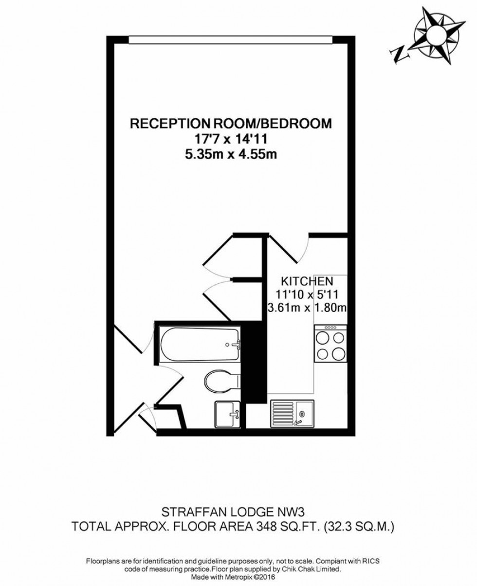 Floorplan for Straffan Lodge, Belsize Grove, London