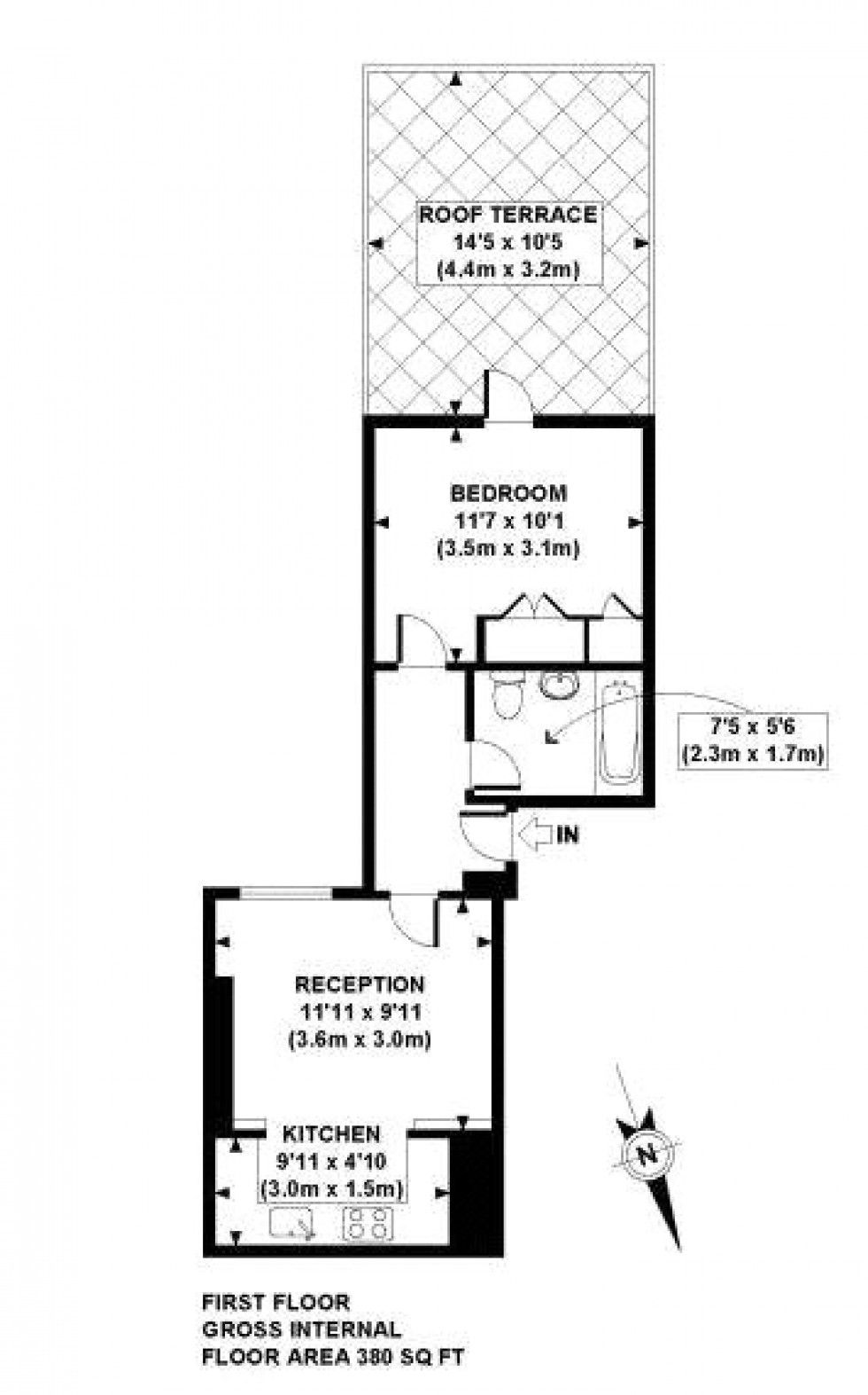 Floorplan for West Hampstead, London