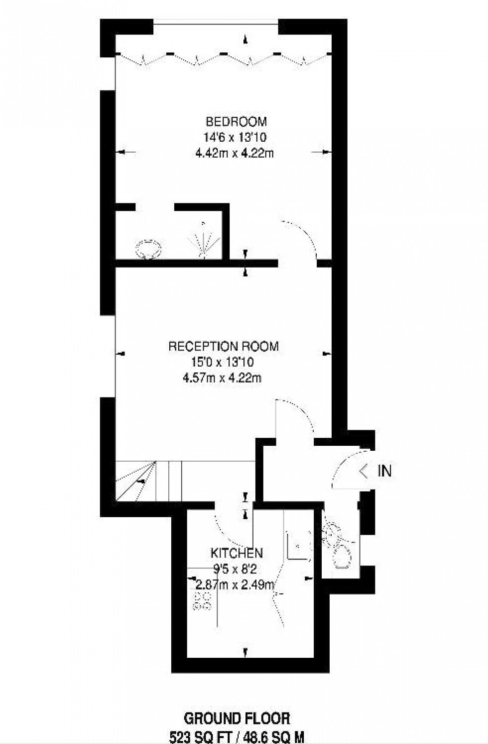 Floorplan for Finchley Road, London